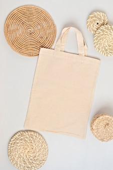 Хлопковая сумка-тоут без отходов, жизнь, экологичность