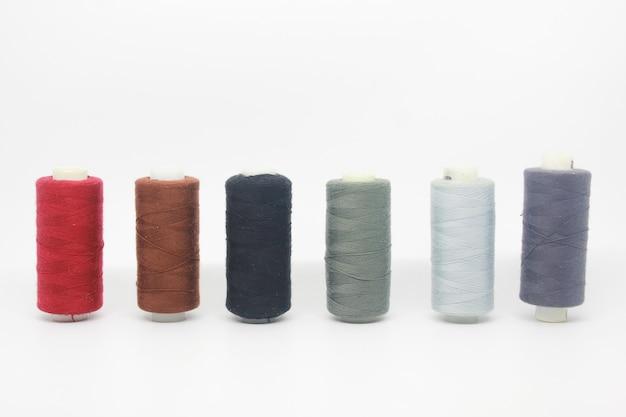 Cotton yarn isolated