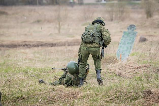 Counter-terrorist operation command post exercise, russia.