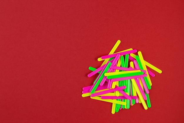 Подсчет палочек разного цвета