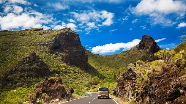 테 네리 페, 카나리아 제도, 스페인의 산에서 국가로