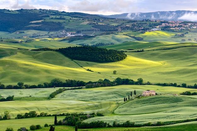발 도르시아 투스카니의 시골