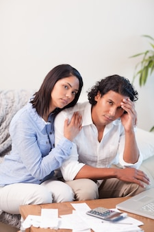 Couple frustrated over their financial situation