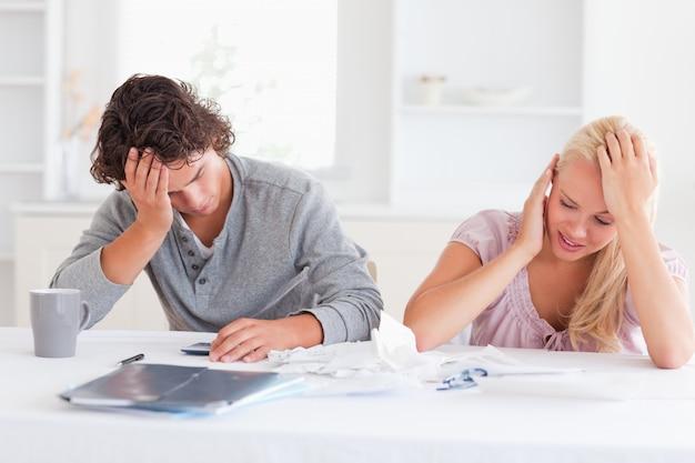 Couple in great despair