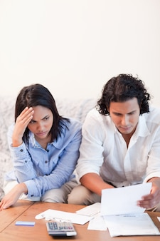 Couple having financial problems