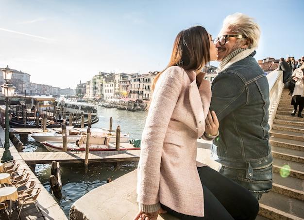 Пара в венеции