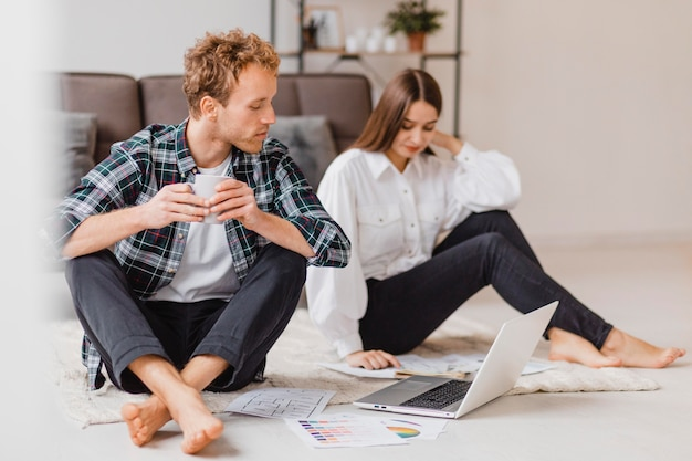 Couple planning on redecorating the house