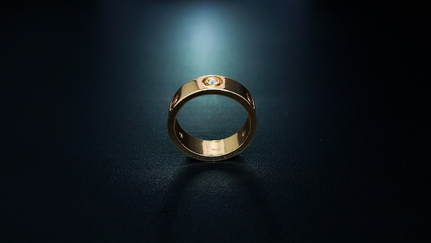 Couple ring with beautiful pearl accents