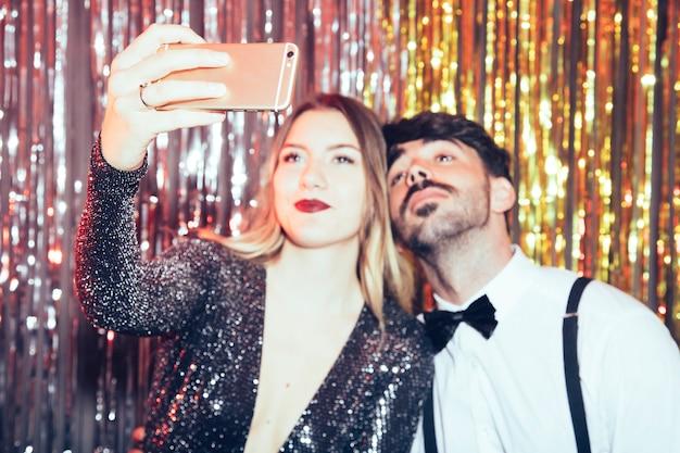 Coppia, prendere, selfie, partiti, nuovo, anni
