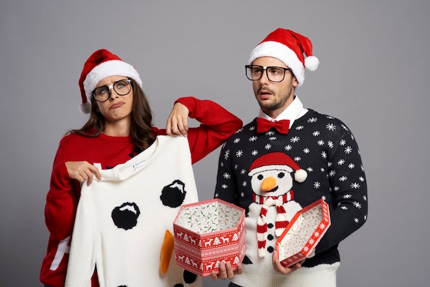 Couple tired of getting boring christmas present