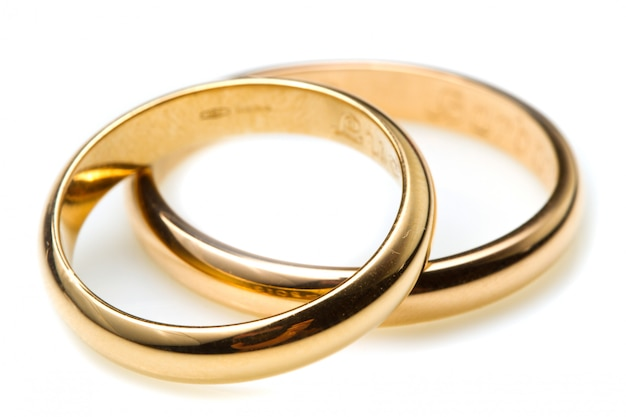 Couple of wedding rings