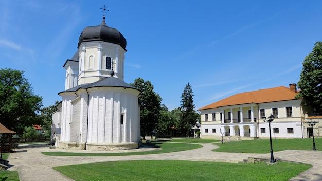 公園内の修道院の中庭