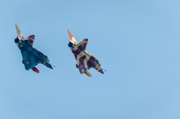 Couteau delta tactical displayの航空機ミラージュ2000