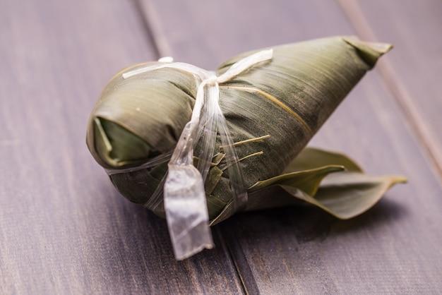 Covered zongzi