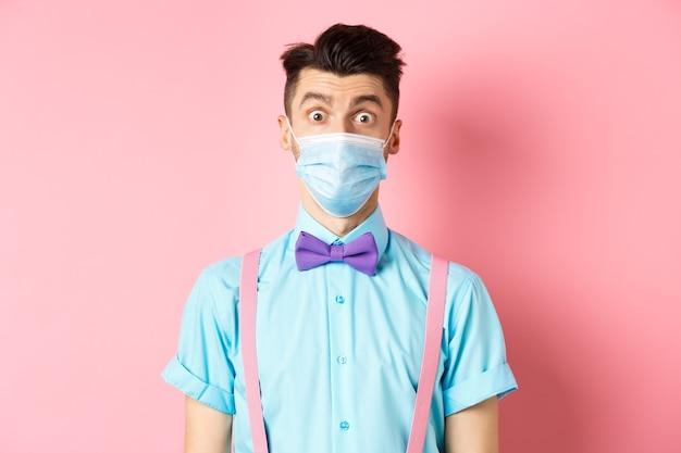 Covid-19, концепция пандемии и здоровья.