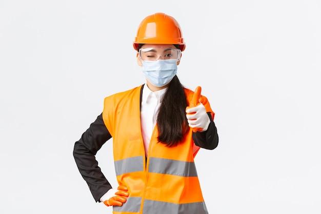 企業、建設におけるcovid-19安全プロトコル