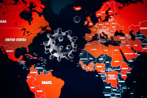 コロナウイルスcovid-19の世界的大流行
