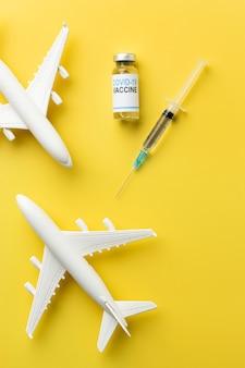 ワクチンのあるcovid静物
