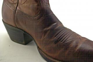 Cowboy boots, farmland