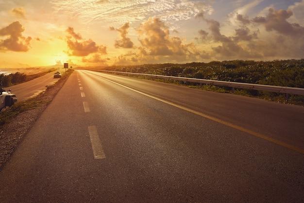 Cozumel island road quintana roo c-1