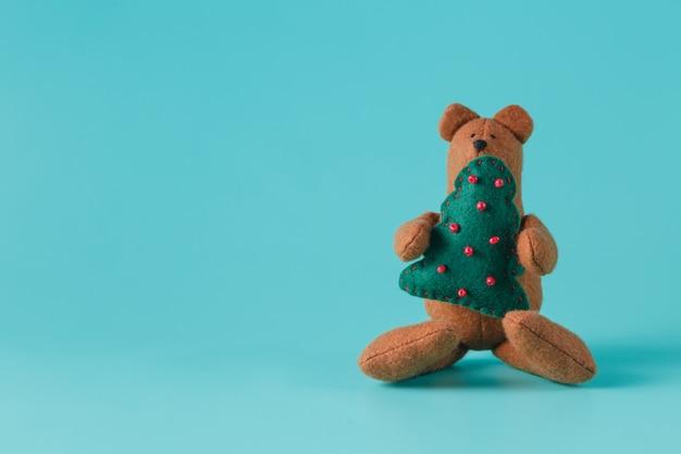 아늑한 곰 장난감 프리미엄 사진