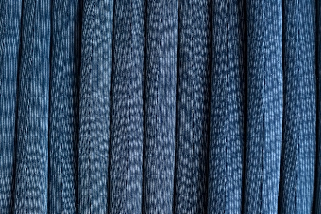 居心地の良いブルー、ターコイズのふわふわの質感