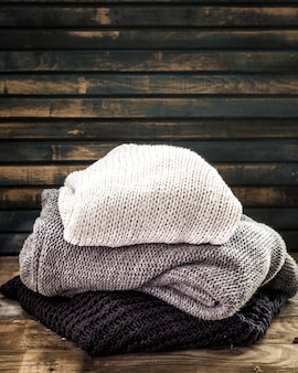 Cozy and soft sweater in a beautiful ornament