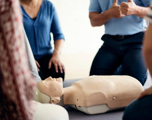 Концепция обучения первой помощи cpr