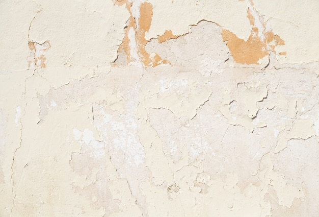 Трещины смыл оранжевые стены
