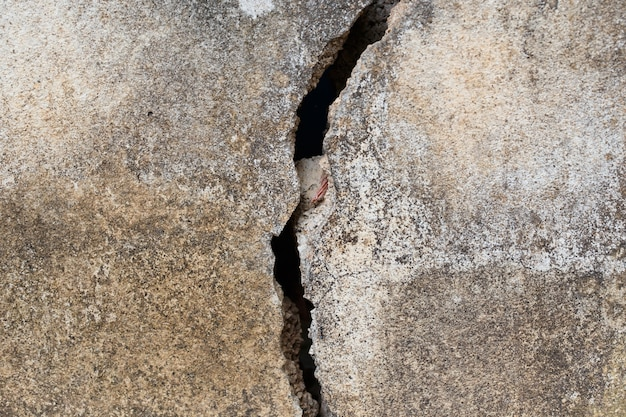 Cracked cement detail background