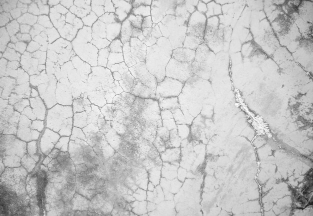 Cracked cement wall texture-black and white