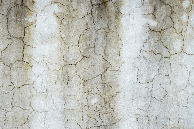 Cracked concrete cement wall texture