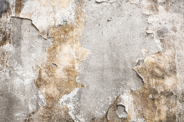 Cracked concrete wall textured background