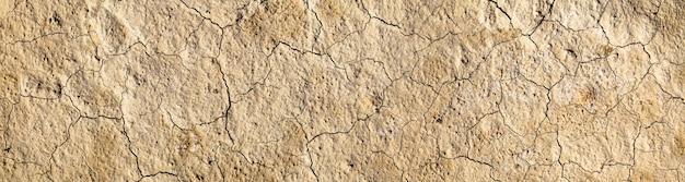 Треснувшая суша в пустыне