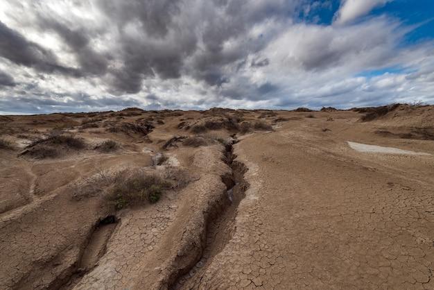 ひびの入った地球、地震の結果