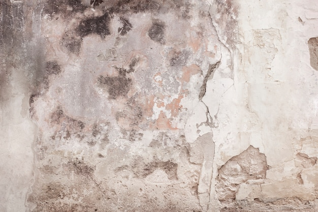 Cracked old wall