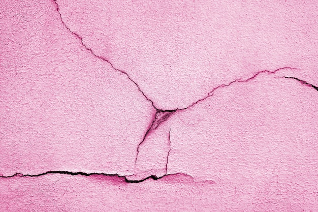 Cracked paint on the wall. abstract background texture