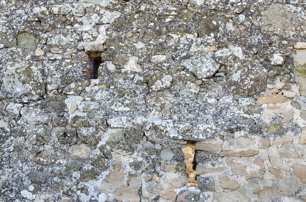 Cracked stone structure. abstract.