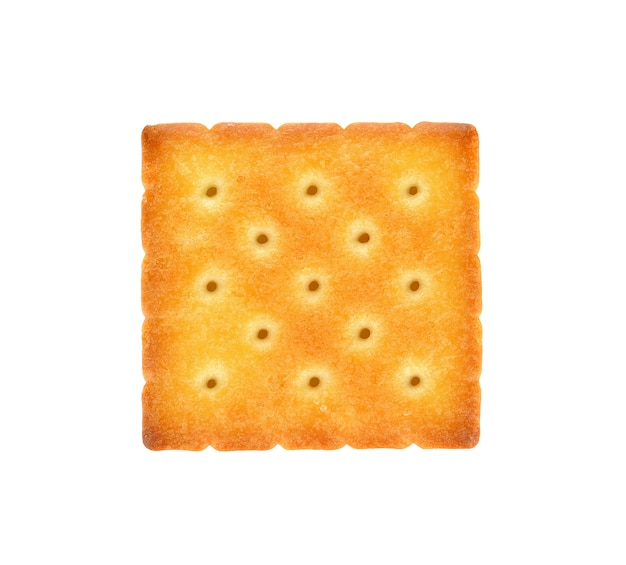 Cracker, изолированных на белом фоне