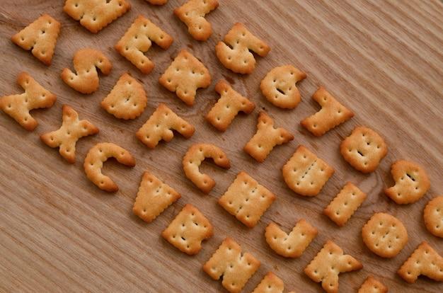 Cracker keyboard buttons