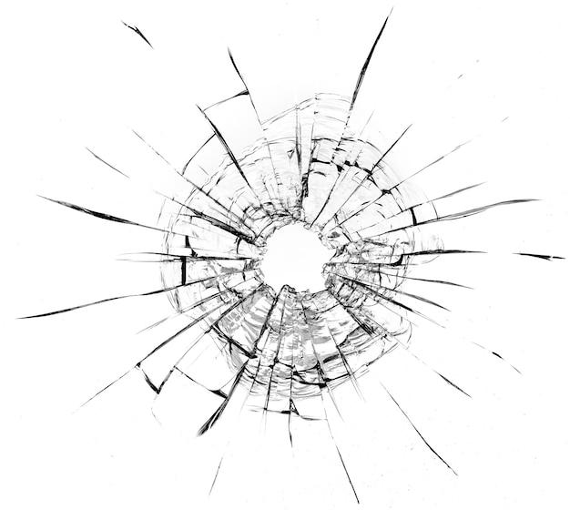 Cracks in the window