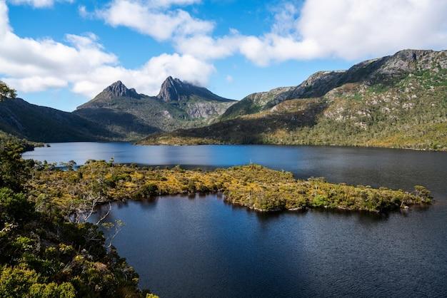 Национальный парк cradle mountain, тасмания, австралия