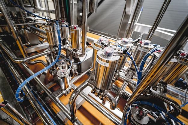 Оборудование для крафтового пивоварения на частной пивоварне