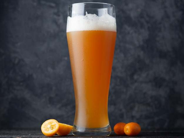 Craft beer is a sour pale ale with a kumquat citrus