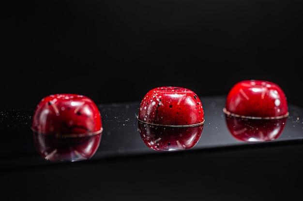 Craft chokolate candies for new year festive