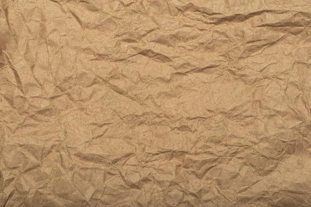 高品質の写真を裏打ちするしわくちゃの紙の質感としわの効果を持つ細工された再生紙