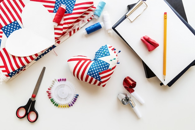 Crafts made with usa flag