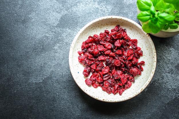 Cranberries dried berries cherry sweet