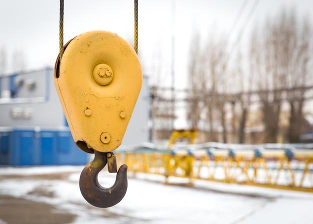 Crane in a construction