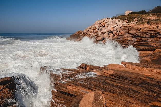 Crashing wave dramatic